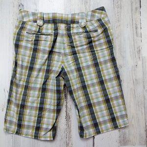Banana Republic Shorts - 🌿 Banana Republic Martin Fit Plaid Bermuda Shorts